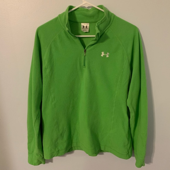 Under Armour Jackets & Blazers - Under Armour green women's size large pullover
